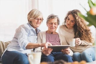 Participate in 'Quality of life' assessment in people with dementia